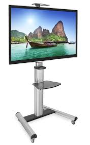 tv stands for 55 inch flat screens amazon com mount it mobile tv stand for flat screen televisions