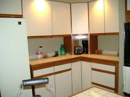 Painted Laminate Kitchen Cabinets Can I Paint Over Laminate Kitchen Cabinets Everdayentropy Com