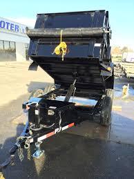 dump trailer 5 u0027x8 u0027 10k gvwt pj with 18