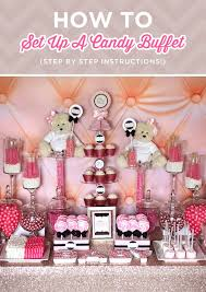 Candy For A Candy Buffet by How To Set Up A Candy Buffet Step By Step Instructions
