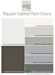 Color Ideas For Painting Kitchen Cabinets Best Colors To Paint Kitchen And Bath Cabinets The Creativity