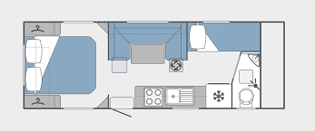 Caravan Floor Plans Family Escape Nova Caravans