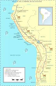 Back Road Maps File Inca Road System Map En Svg Wikimedia Commons