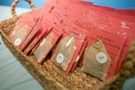 tea bag wedding favors tea bags favors elizabeth designs the wedding