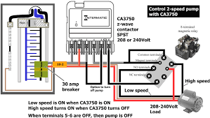 2 pole contactor wiring diagram for short circuit breaker png