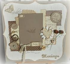 scrapbooking mariage scrapbooking cadre mariage page azza mariage cadre
