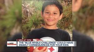 Challenge Deadly Parents Warned Of Deadly Blue Whale Challenge That Ends With