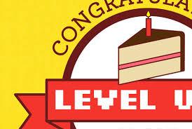 gamer birthday card level up funny birthday nerdy birthday