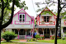 gingerbread cottages at oak bluffs campground new england today