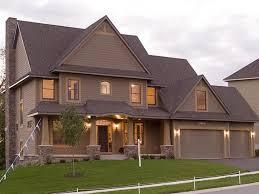 home exterior paint color schemes dubious new house combinations