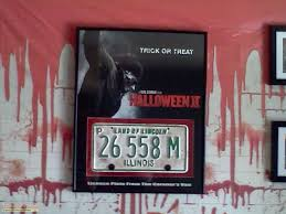 halloween 2 rob zombie u0027s license plate from the coroner u0027s van