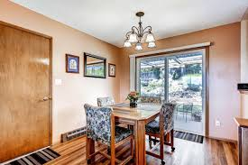 stunning views at 10685 nw dumar lane portland in the bonny slope the dining room has picturesque view out the sliding glass door to the landscaped back yard
