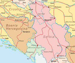 Map Of Serbia Interrail Routes For Serbia Map Serbia U2022 Mappery