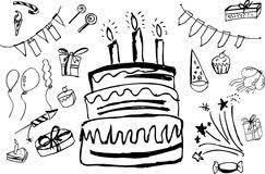 birthday stuff doodle birthday stuff stock illustrations 72 doodle birthday