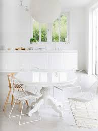 Best White Room Images On Pinterest White Rooms Live And - All white dining room