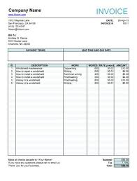 fillable invoice