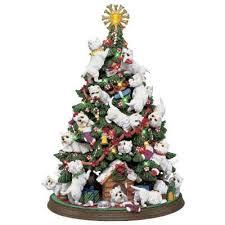 santas best friend westie ornaments the danbury mint