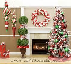 decorating inspiring flocked christmas tree for christmas