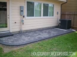 Herringbone Brick Patio Paver Houston Diy