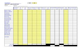 Inventory Spreadsheets Hotel Linen Inventory Spreadsheet Shaim Sheet