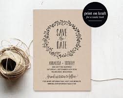 Rustic Save The Date Cards The 25 Best Save The Date Templates Ideas On Pinterest Save The