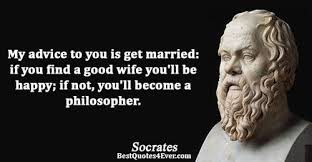 wedding quotes philosophers socrates quotes best quotes