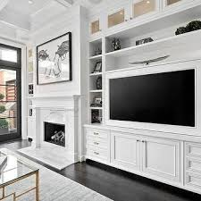 built in tv wall living room built in cabinets best 25 built in wall units ideas on