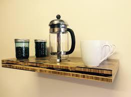 reclaimed chunky floating shelf shelves wooden ebay uks top