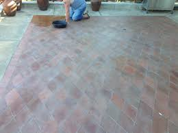 Types Of Pavers For Patio by Mexican Terracotta Paver Exterior Patio Restored
