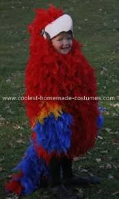 Halloween Costumes Parrots Coolest Homemade Scarlet Macaw Costume Animal Costumes Costumes