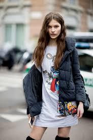 the best of the impression u0027s milan fashion week models off duty