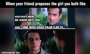 Memes Friendship - photos 9 hilarious bollywood inspired friendship memes that