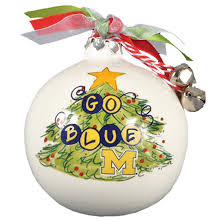 magnolia of michigan tree ornament