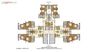 Casa Bella Floor Plan Casa Bella Layout Master Plan And Floor Plan Lodha Palava