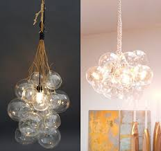 Light Bulb Chandelier Diy Diy Globe Cluster Lamps Door Sixteen