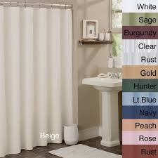 Vinyl Window Curtains For Shower Anti Mildew Vinyl Shower Curtain Liner Free Shipping On Orders