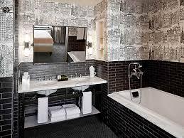 black tile bathroom ideas tiny 6 bathroom with black tiles on black floor tiles bathroom