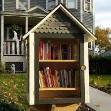 free house search westfield family opens little free library at home on east broad
