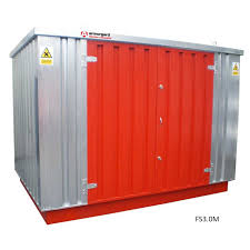 flamstor hazardous storage containers