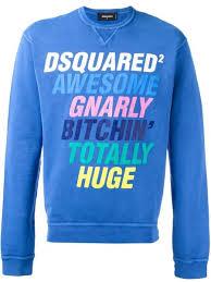 passion for fashion gucci mane rocks a dsquared2 slogan crewneck