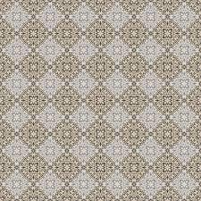 seamless blue tan u0026 grey damask wallpaper pattern u2014 stock photo