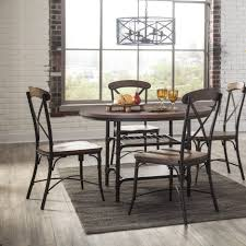 Farmhouse Dining Room Lighting by Dining Tables Metal Dining Table Set Industrial Looking Kitchen