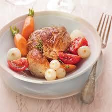 cuisiner jarret de veau jarret de veau aux carottes recette minceur weight watchers
