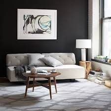 west elm round coffee table daily find west elm reeve mid century coffee table copycatchic