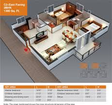 astounding 2bhk home design plans indian style 3d gallery plan