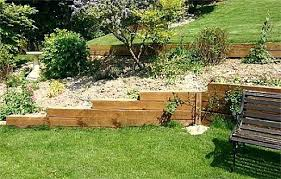 Backyard Retaining Wall Ideas Wooden Landscape Walls Top Landscape Timber Interesting Timber