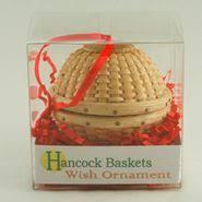 decoration tree weaving basket vánoční ozdoba
