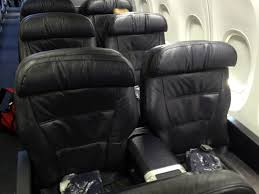 United New Baggage Policy by Airline Review United Boeing 737 First Class New York Newark Los