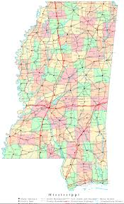 Map Of Mississippi State University by 29 Creative Map Of Mississippi Cities And Towns Afputra Com