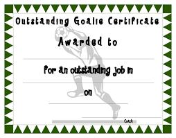 soccer certificate template u2013 best u0026 professional templates